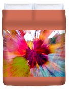 Grape Vine Burst Duvet Cover by Bill Gallagher