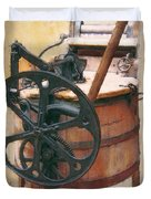 GREAT-GRANDMOTHER'S WASHING MACHINE Duvet Cover by Daniel Hagerman