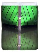 Green Reflection Duvet Cover by Heiko Koehrer-Wagner