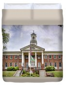 Greeneville Town Hall Duvet Cover by Heather Applegate
