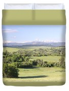 Greenland Ranch Duvet Cover by Eric Glaser