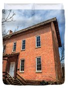 Grist Mill in Northwest Indiana Duvet Cover by Paul Velgos