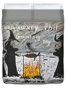 Groundhog Day Duvet Cover by Jeffrey Koss