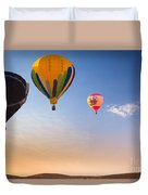 Group Of Balloons Duvet Cover by Inge Johnsson