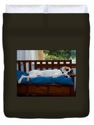 Guard Dog Duvet Cover by Dennis Reagan