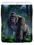 Guardian Duvet Cover by Jerry LoFaro