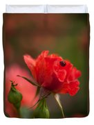 Guest Of The Queen Duvet Cover by Mike Reid