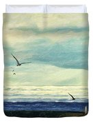 Gulls Way Duvet Cover by Lianne Schneider
