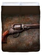 Gun - Police - Dance For Me Duvet Cover by Mike Savad