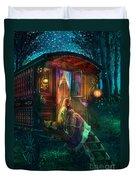 Gypsy Firefly Duvet Cover by Aimee Stewart