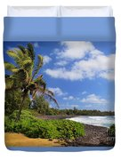 Hana Beach Duvet Cover by Inge Johnsson