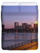 Hancock and Pru Duvet Cover by Juergen Roth