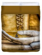 Hand Of Buddha Duvet Cover by Adrian Evans
