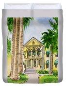 Hanford - California Sketchbook Project Duvet Cover by Irina Sztukowski