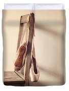 Hanging In The Moment Duvet Cover by Amy Weiss
