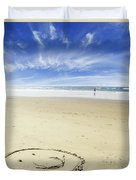 Happiness Duvet Cover by Les Cunliffe