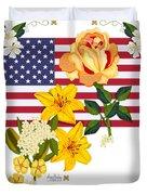 Happy Birthday America 2013 Duvet Cover by Anne Norskog