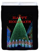 Happy Holidays Duvet Cover by David Lee Thompson