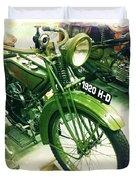 Harley Davidson Duvet Cover by Nina Prommer