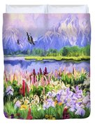 Harmony Duvet Cover by David Wagner