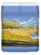 Harvest St Germain Quebec Duvet Cover by Patricia Eyre