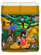 Harvest Time Duvet Cover by Cyril Maza