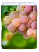 Harvest Time. Sunny Grapes VIII Duvet Cover by Jenny Rainbow