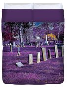 Haunted Cemetery Duvet Cover by Alys Caviness-Gober