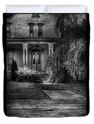 Haunted - Haunted II Duvet Cover by Mike Savad
