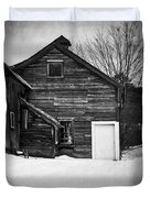 Haunted Old House Duvet Cover by Edward Fielding