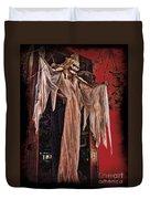 Hauntings Duvet Cover by Joan  Minchak