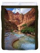 Havasu Creek Duvet Cover by Inge Johnsson