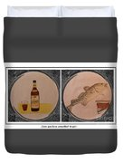 Have You Been Screeched In Yet Duvet Cover by Barbara Griffin