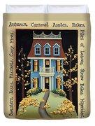 Hawthorne Knoll Duvet Cover by Catherine Holman