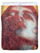 Head Duvet Cover by Graham Dean