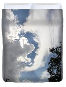 Head In The Clouds Duvet Cover by Jackie Mestrom