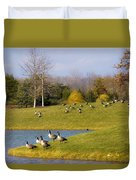 Heading South Duvet Cover by Julie Palencia
