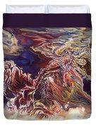 Heart Open Duvet Cover by Karina Llergo