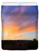 Heart Sunset Duvet Cover by Augusta Stylianou