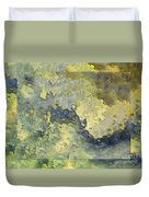 Heavenly Clouds Abstract Duvet Cover by Debbie Portwood