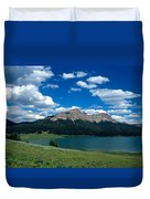 Heavenly Day Duvet Cover by Kathy Yates