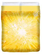 Here Comes The Sun Duvet Cover by Kume Bryant
