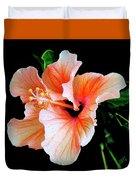 Hibiscus Spectacular Duvet Cover by Ben and Raisa Gertsberg