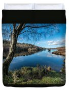 Hidden Lake Duvet Cover by Adrian Evans