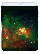 Hidden Nebula Duvet Cover by The  Vault - Jennifer Rondinelli Reilly