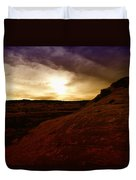 High Desert Clouds Duvet Cover by Jeff Swan