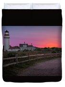 Highland Light Duvet Cover by Bill  Wakeley