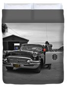 Highway Patrol 5 Duvet Cover by Tommy Anderson