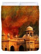Hindu Gymkhana Duvet Cover by Catf