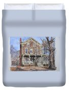 Historic Home Westifled New Jersey Duvet Cover by Anthony Butera
